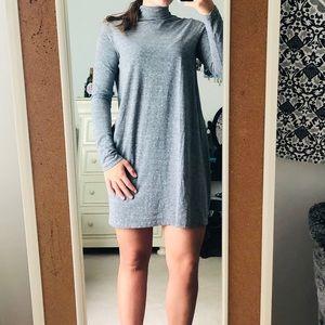 Forever 21 Grey Neck Dress